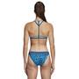 adidas Pro EBS Zweiteiliger Bikini Damen shock cyan