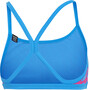 adidas Pro AOP Bikini Oberteil Damen true blue