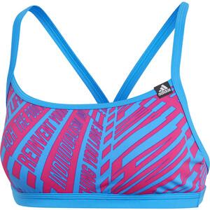 adidas Pro AOP Bikini Oberteil Damen true blue true blue