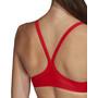adidas Fit 3-Stripes Infinitex Bikini Damer, rød