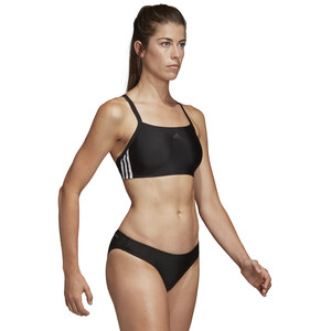 adidas Fit 3-Stripes Infinitex Bikini Damen black black