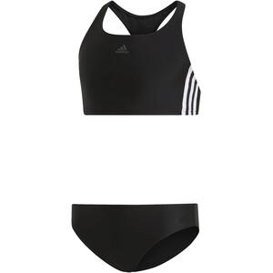adidas Fit 3S Bikini Mädchen black/white black/white