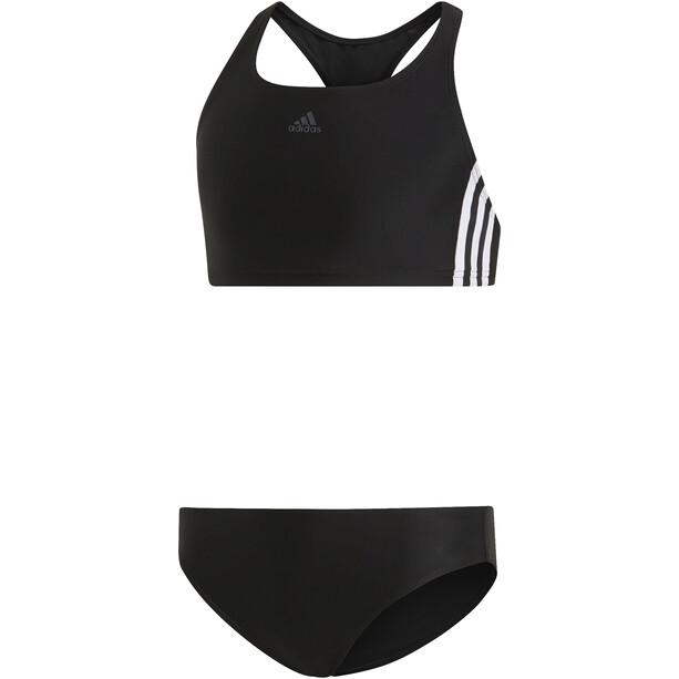 adidas Fit 3S Bikini Mädchen black/white