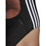 adidas Fit 3S Badeanzug Damen black/white