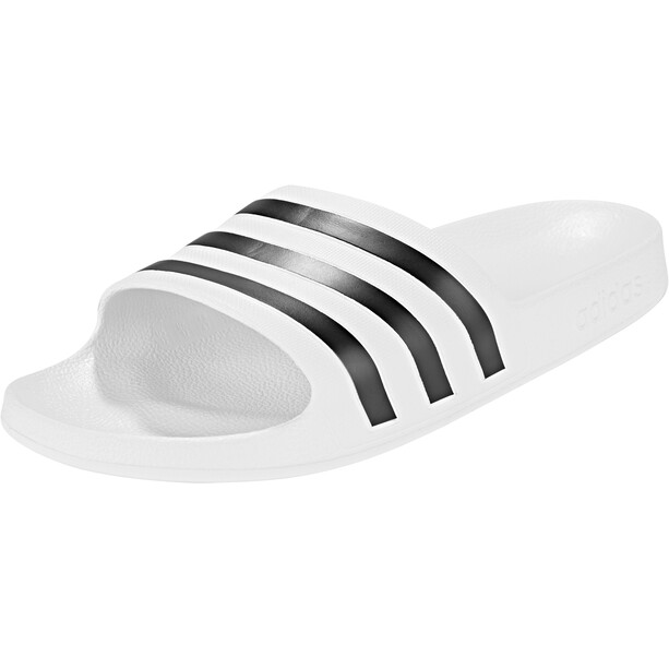 adidas Adilette Aqua Slipper Herren footwear white/core black/footwear white