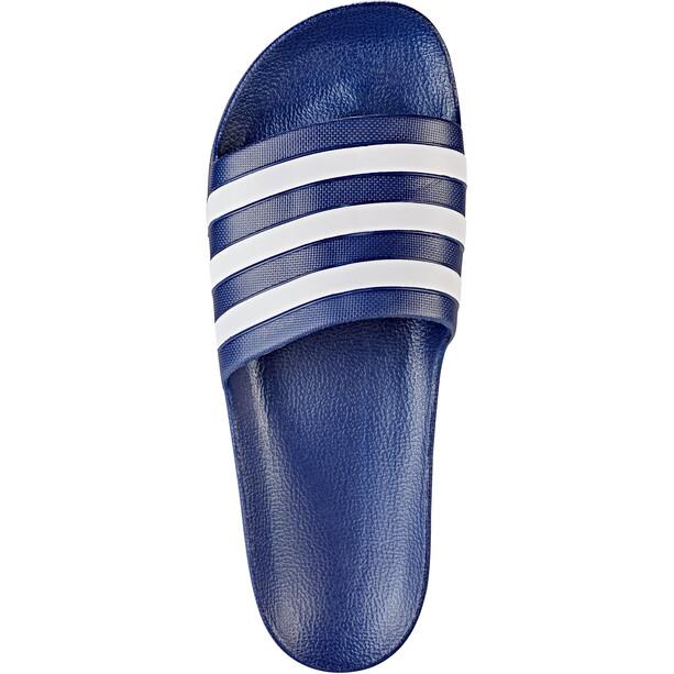 adidas Adilette Aqua Slipper Herren dark blue/ftwr white/dark blue