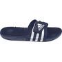 adidas Adissage Slipper Herren dark blue/ftwr white/dark blue