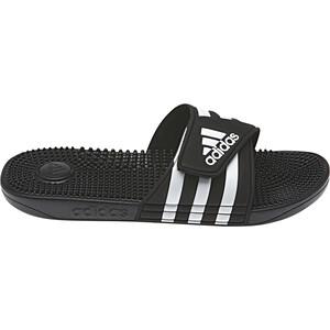 adidas Adissage Claquettes Homme, noir noir