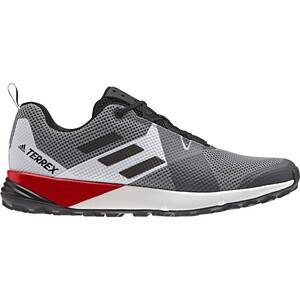 adidas TERREX Two Schuhe Herren grey three/core black/active red grey three/core black/active red