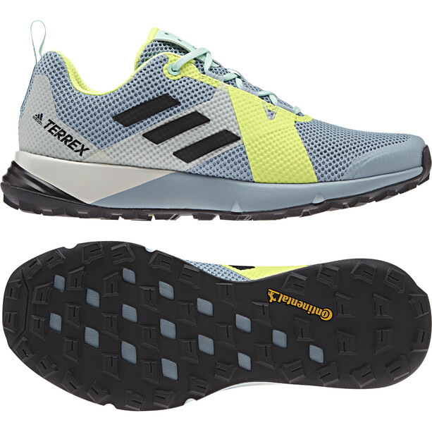 adidas TERREX Two Schuhe Damen ash grey/core black/hi-res yellow