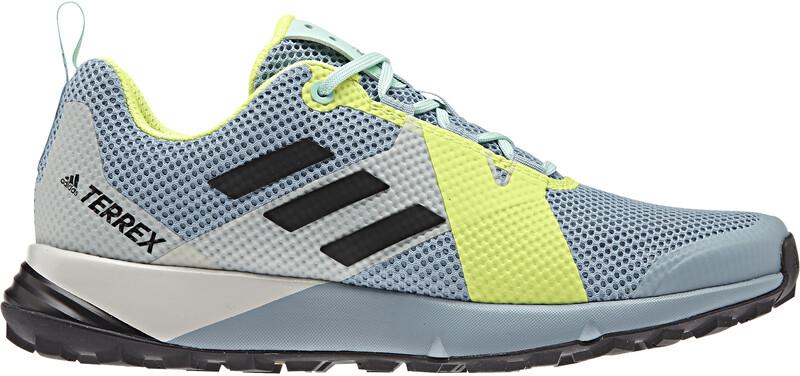 Two Shoes Women ash grey/core black/hi-res yellow UK 8 | 42 2019 Trail Running Schuhe