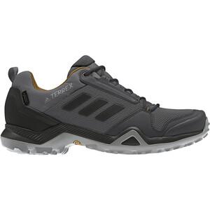 adidas TERREX AX3 Gore-Tex Wanderschuhe Wasserdicht Herren grey five/core black/mesa grey five/core black/mesa