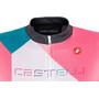 Castelli Ventata Full-Zip Trikot Damen multicolor/tourquoise/green