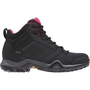 adidas TERREX AX3 Mid Gore-Tex Chaussures de randonnée Femme, carbon/core black/active pink carbon/core black/active pink