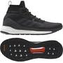 adidas TERREX Free Hiker Wanderschuhe Herren core black/grey six/active orange