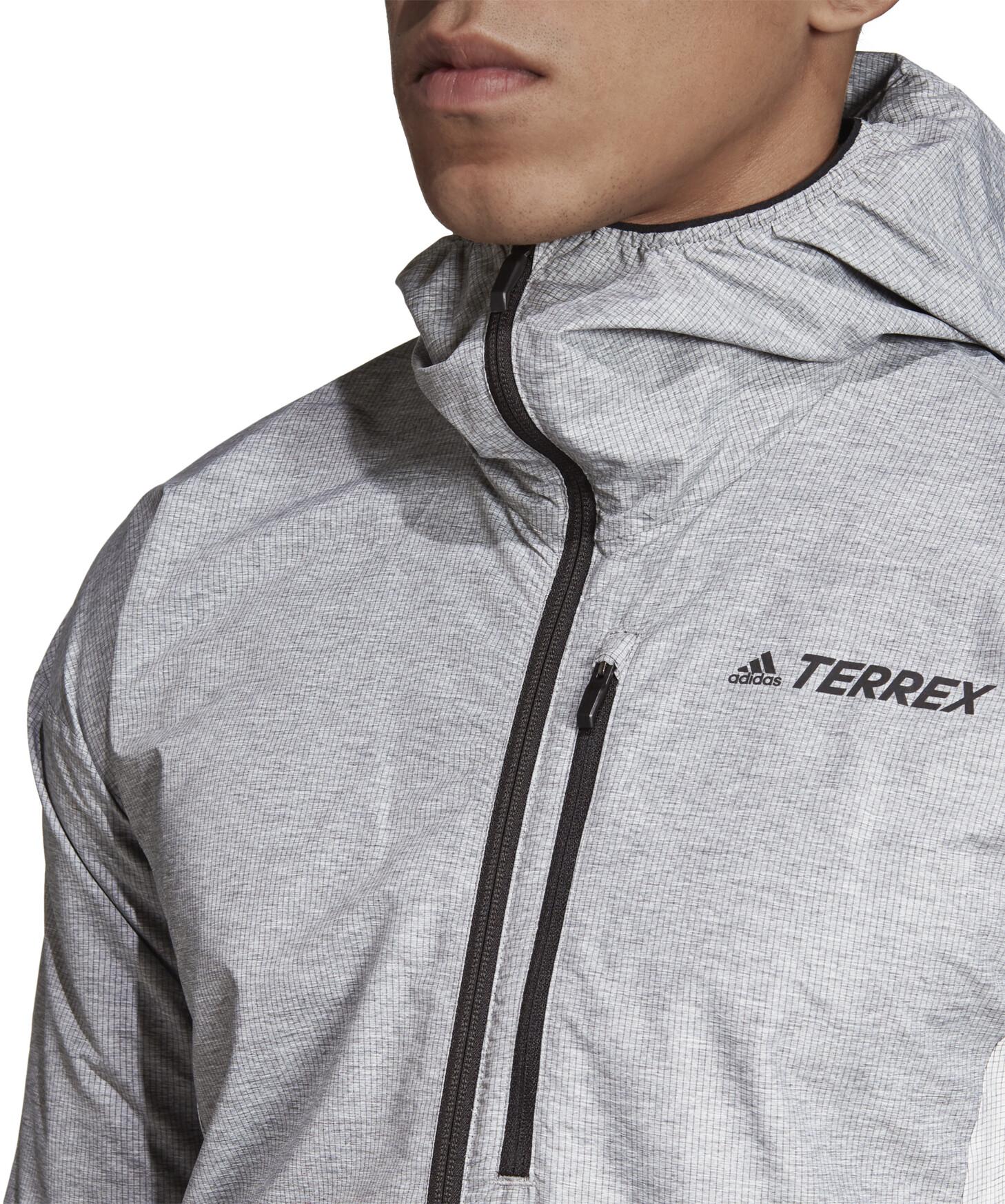 adidas TERREX Agravic Windweave Jacke Herren grey fourwhite