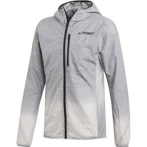 adidas TERREX Agravic Windweave Jacke Herren grey four/white grey four/white