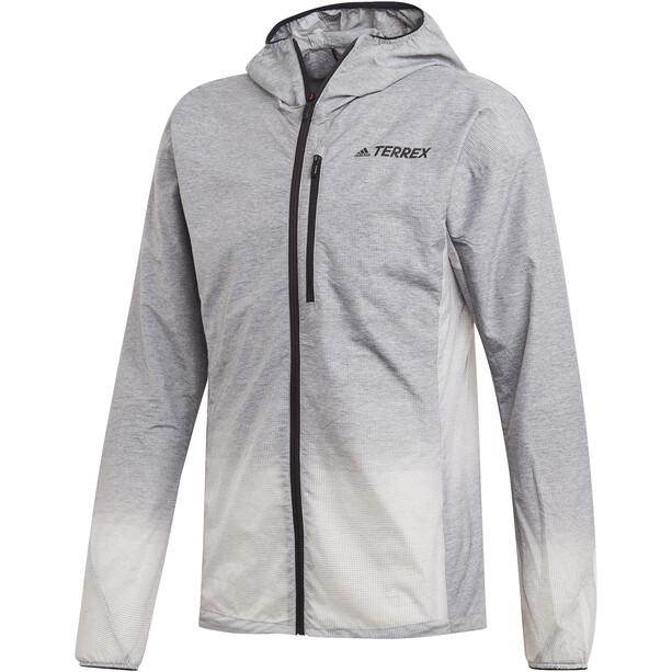 adidas TERREX Agravic Windweave Jacke Herren grey four/white