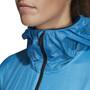 adidas TERREX Agravic Alpha Hupullinen suojaava takki Naiset, sininen