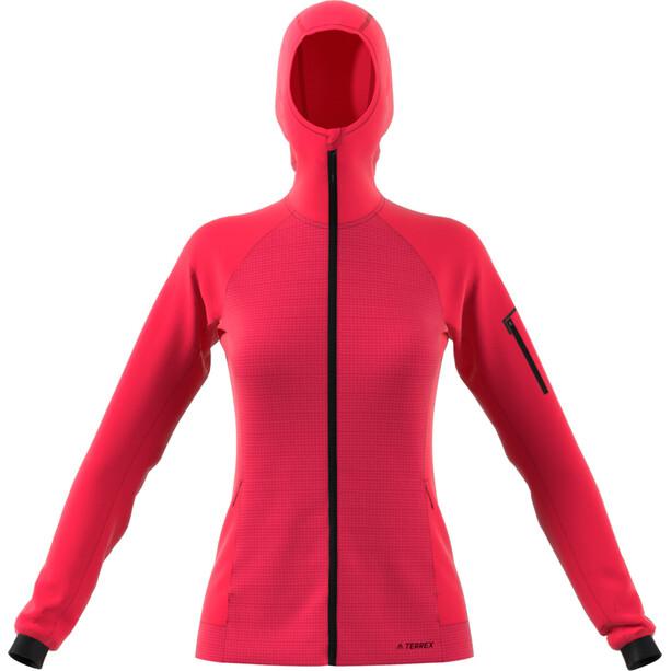adidas TERREX Stockhorn Hupullinen Takki Naiset, vaaleanpunainen