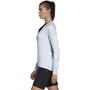 adidas TERREX TrailCros Langarmshirt Damen aero blue/white