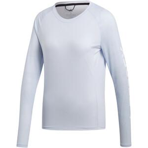 adidas TERREX TrailCros Langarmshirt Damen aero blue/white aero blue/white