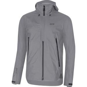 GORE WEAR H5 Gore-Tex Active Hooded Jacket Herr terra grey terra grey