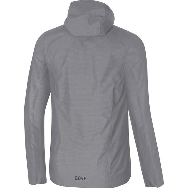 GORE WEAR H5 Gore-Tex Active Hooded Jacket Herr terra grey