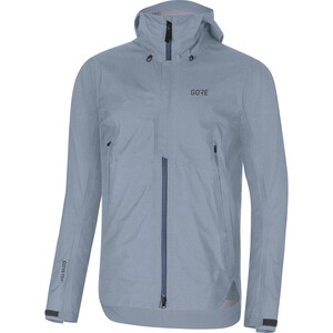 GORE WEAR H5 Gore-Tex Active Hooded Jacket Herr deep water blue/cloudy blue deep water blue/cloudy blue