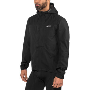 GORE WEAR C3 Gore-Tex Paclite Hooded Jacket Herr black black