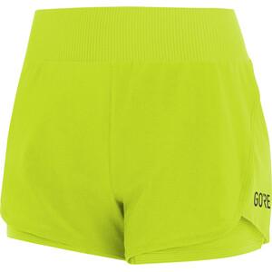 GORE WEAR R7 2in1 Shorts Damen grün grün
