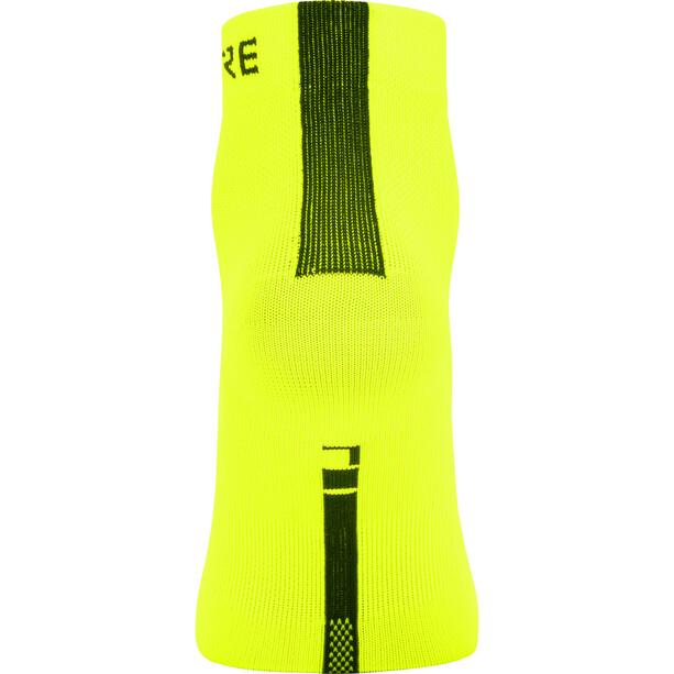 GORE WEAR M Light Mid-Cut Socken gelb/schwarz