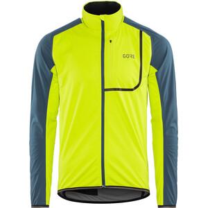 GORE WEAR C3 Gore Windstopper Jacket Herr citrus green/deep water blue citrus green/deep water blue