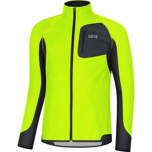 GORE WEAR R3 Partial Gore Windstopper Shirt Herren neon yellow/black neon yellow/black
