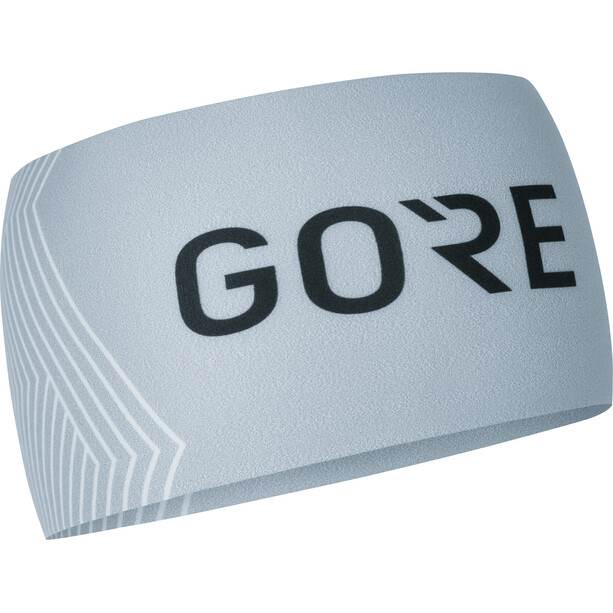 GORE WEAR M Opti Stirnband light grey/white