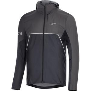 GORE WEAR R7 Partial Gore-Tex Infinium Veste à capuche Homme, noir/gris noir/gris