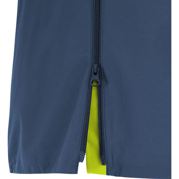 GORE WEAR R7 Partial Gore-Tex Infinium Kapuzenjacke Herren blau/grün