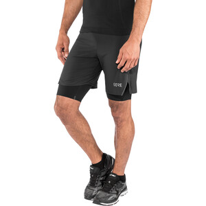 GORE WEAR R7 2in1 Shorts Herr black black