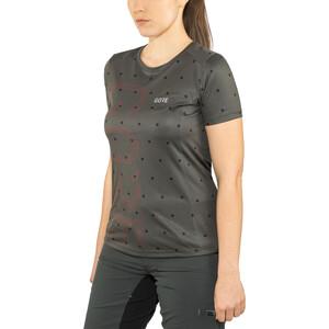 GORE WEAR M Brand Shirt Damen terra grey/hibiscus pink terra grey/hibiscus pink
