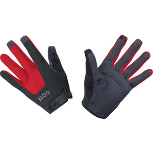 GORE WEAR C5 Trail Handschuhe schwarz/rot schwarz/rot