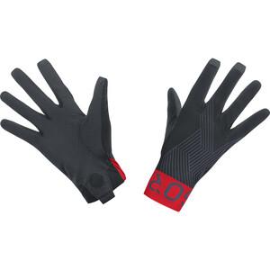 GORE WEAR C7 Pro Handschuhe schwarz/rot schwarz/rot