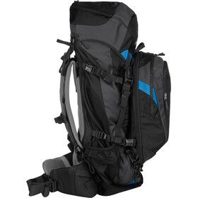 deuter quantum 60 10 sl backpack women black turquoise. Black Bedroom Furniture Sets. Home Design Ideas