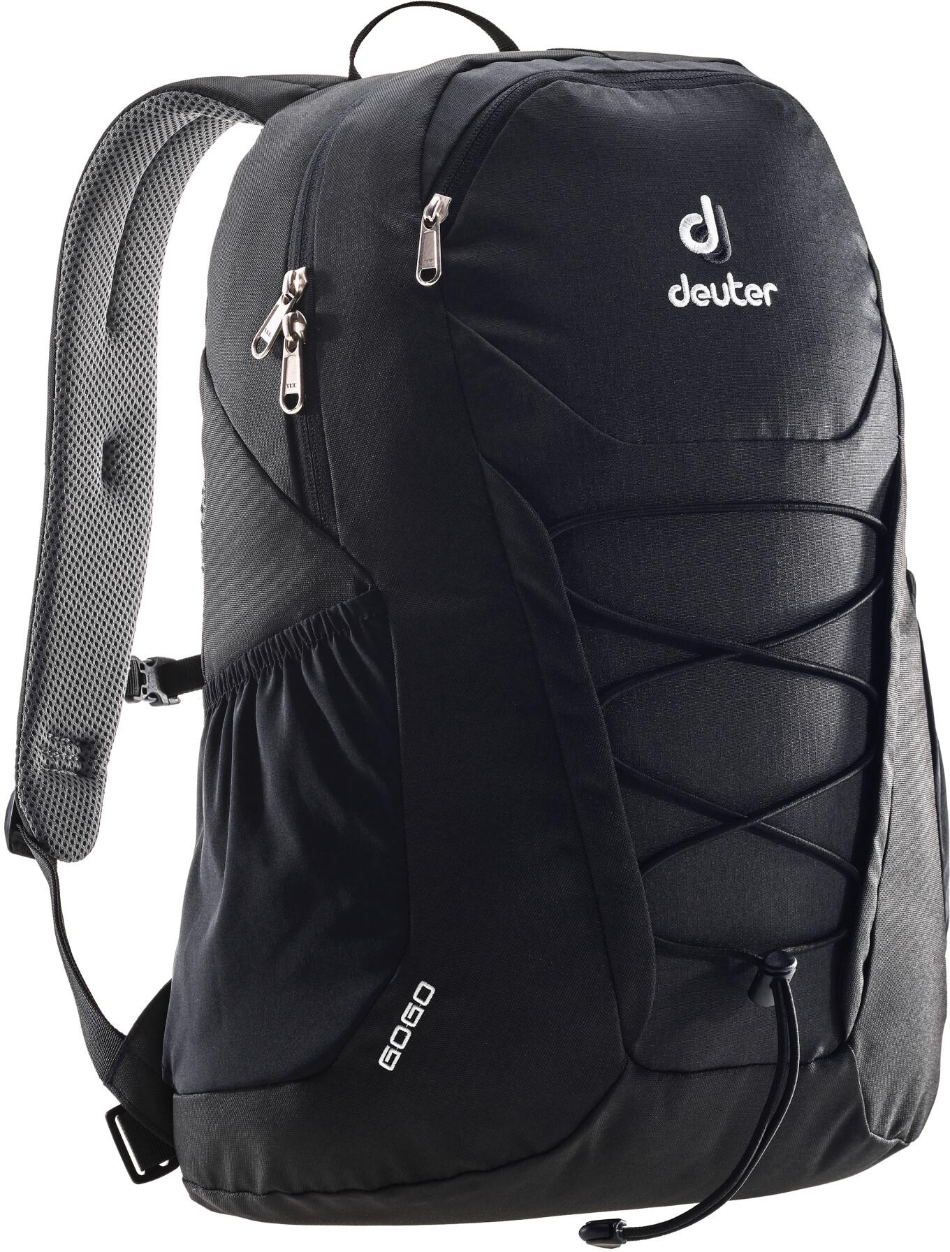 deuter gogo backpack 25l black. Black Bedroom Furniture Sets. Home Design Ideas