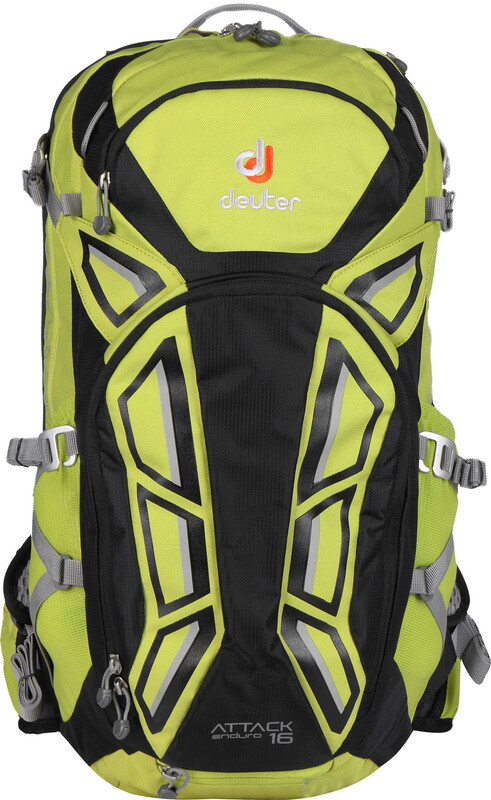 Deuter Attack Enduro 16 Protector Backpack apple-black  2019 Ryggsäckar med vätskesystem