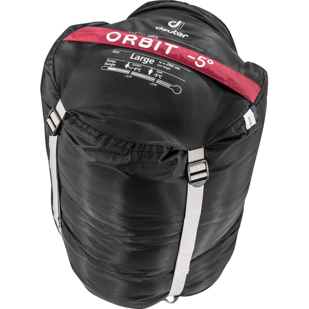 Deuter Orbit -5° Schlafsack Long cranberry-steel