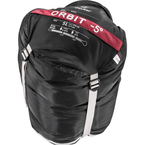 Deuter Orbit -5° SL Schlafsack Damen cranberry-aubergine