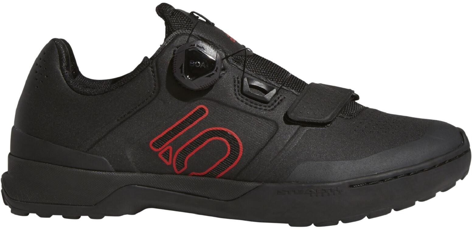 adidas Five Ten Kestrel Pro Boa TLD Mountain Bike Schuhe Herren core blackredgrey six