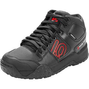 adidas Five Ten Impact High Mountain Bike Shoes Men core black/red/ftwr white core black/red/ftwr white