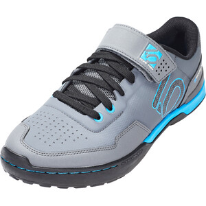 adidas Five Ten Kestrel Lace Mountain Bike Schuhe Damen grey five/shock cyan/core black grey five/shock cyan/core black