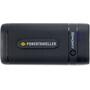 Powertraveller Sport 25 powerpack med fakkel Svart